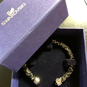 Swarovski Black Crystal Bangle